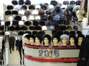 Норкові шапки із нової колекції-1