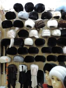 Норкові шапки із нової колекції