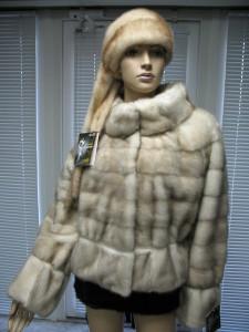 куртка норкова поперечка сільвер