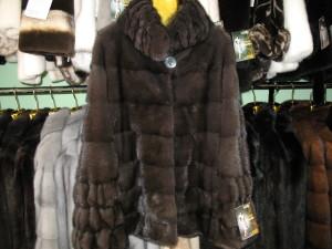норка куртка аврора