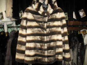 норка куртка лазер,поперечка