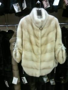 Норка канадська, куртка із стягуючим рукавом та низом
